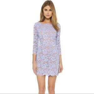 DVF Zarita Lilac Lace Dress
